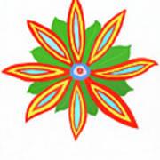 Power Flower Poster