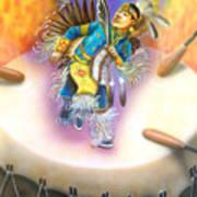 Powwow Dancer Poster