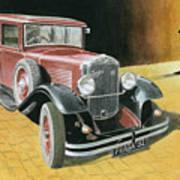 Praga Alfa Poster
