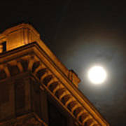 Prague At Night Poster