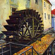 Prague Chertovka Poster