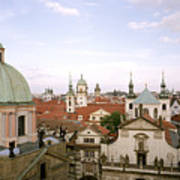 Prague Twilight Poster