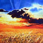 Prairie Gold Poster