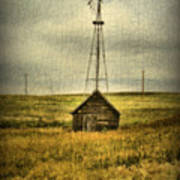Prairie Pump Poster