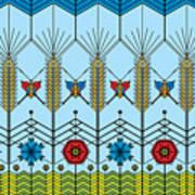 Prairie Wheat Poster