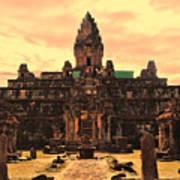 Prasat Bakong Temple I Poster