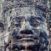 Prasat Bayon Stone Face  Poster