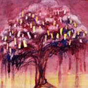 Prayer Tree II Poster by Janet Chui