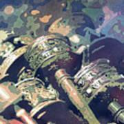 Prayer Wheels- Nepal Poster