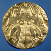 Pre-columbian Gold, 1000 Ad Poster