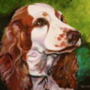 Precious Spaniel Poster by Susan A Becker