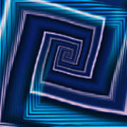 Predominantly Blue Poster