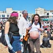 Pregnant Pirate Poster