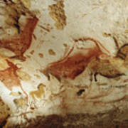 Prehistoric Artists Painted Robust Poster