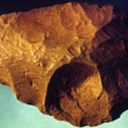 Prehistoric Flint Blade Poster