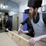 Preparing Matzah Israel Poster