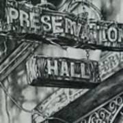 Preservation Hall Poster