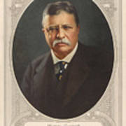 President Theodore Roosevelt - Rough Rider, Governor And President Poster