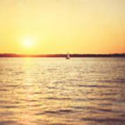 Presque Isle Sunset Poster