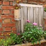 Pretty Garden Wall Poster
