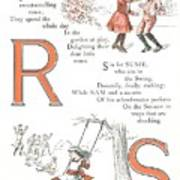 Pretty Name Abc R And S Poster