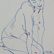 Pretty Nude Woman Poster