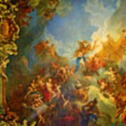 Priceless Art In Versailles Poster