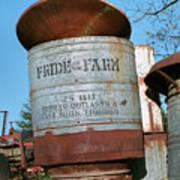 Pride Of The Farm 25 Bushel Feeder Poster