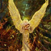 Priestess Of The Woods-angel Tarot Card Poster