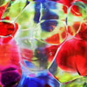 Glassy Art Poster