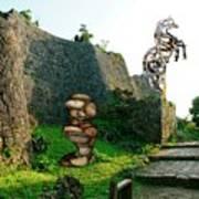Primitive Statues Poster
