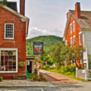 Prince And The Pauper Restaurant In Woodstock-vermont  Poster