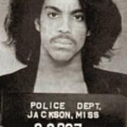 Prince Mug Shot Vertical Poster