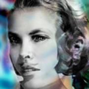 Princess Claudia Vinci Poster