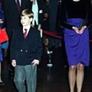 Princess Diana Harry Poster