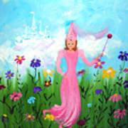 Princess Kennedy's Garden Poster