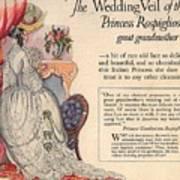 Princess Rospigliosi Ephemera Vintage Poster