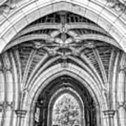 Princeton University Arched Walkway Poster