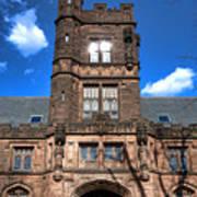 Princeton University East Pyne Hall  Poster