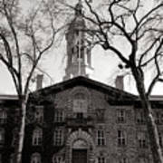 Princeton University Nassau Hall  Poster