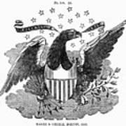 Printers Cut, 1825 Poster