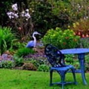 Priscillas English Garden Poster