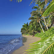 Private Molokai Beach Poster