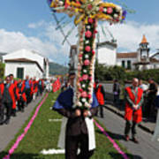 Procession In Furnas - Azores Poster
