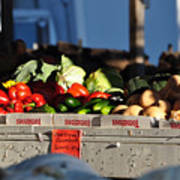 Produce Market Poster