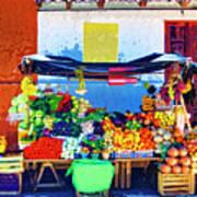 Produce Seller Poster