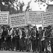Prohibition Protestors Poster
