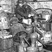 Prohibition Stills Inspected By Treasury Agents Poster