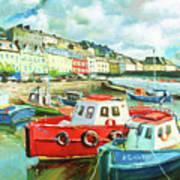 Promenade At Cobh Poster