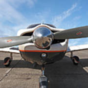 Piper Pa-32-300 Cherokee Six Prop  Poster